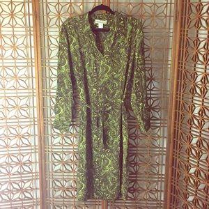 VINTAGE Diane Von Furstenberg Groovy Silk Dress 🍭